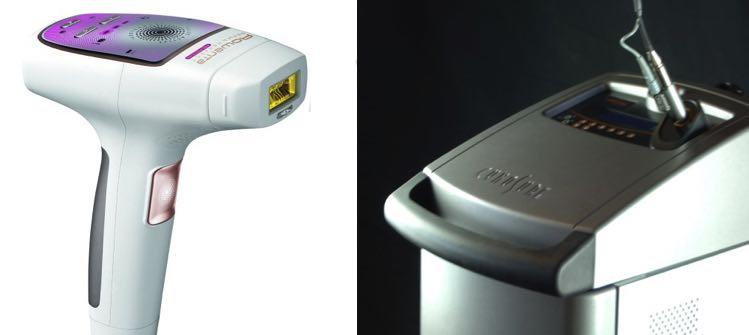 Depiladora Laser Casera vs Profesional